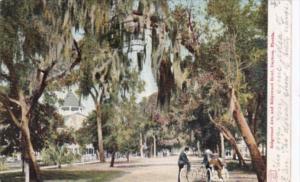 Ridgewood Avenue and Ridgewood Hotel Daytona Florida 1906