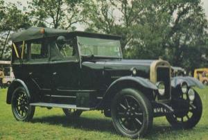 ClynoTourer Car Rare Photo Postcard