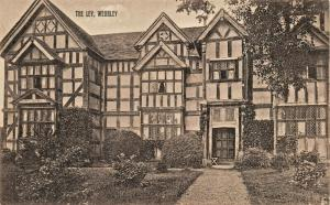 WEOBLY HEREFORDSHIRE ENGLAND~THE LEY~ALFRED DeATH PUBLISHED PHOTO POSTCARD