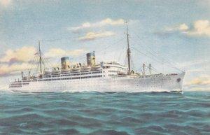 Ocean Liner M/S ITALIA , 1930s