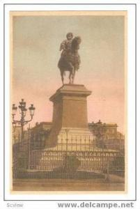 Hand Tinted View: Alexandrie.- Monument to Mohamed Aly, Egypt, 10-20s