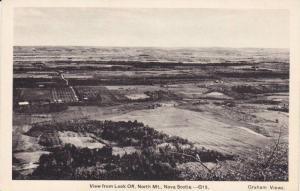 View from Look Off , North Mt , Nova Scotia , Canada , 30-40s