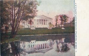 Buffalo New York~Historical Society~1910 Postcard