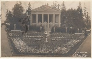 RP: SEATTLE , Washington , 1909 ; AYPE Music Pavilion ; OAKES Photo postcard