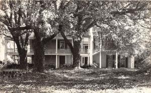 E47/ Natchez Mississippi Real Photo RPPC Postcard c1940s The Elms Mansion Hotel