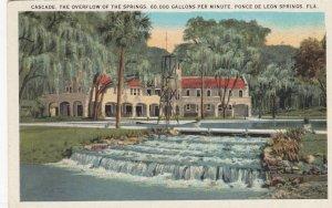 PONCE DE LEON SPRINGS , Florida , 1910s ; Cascade