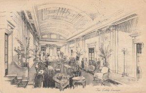 LONDON , England , 1920-30s ; The Park Lane Hotel , Lobby