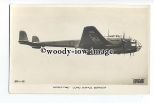 ac0106 - Aircraft - Hereford Long Range Bomber - postcard