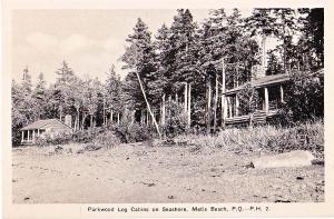 Parkwood Log Cabins, Metis Beach, PQ
