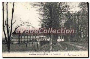 Postcard Old Chateau De La Mesnieres East Facade
