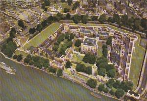 England London Aerial View Tower Of London