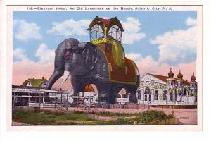 Elephant Hotel on the Beach, Atlantic City, New Jersey, P Sander