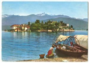 Italy, Lago Maggiore, ISOLA BELLA, 1967 used Postcard