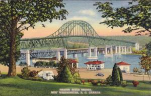 Fraser River Bridge, New Westminster,B.C. Canada,30-40s