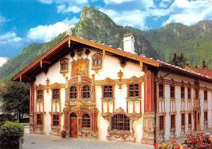 Oberammergau Pilatushaus Fresken des Luftlmalers Franz Seraph Zwink