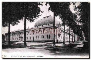 Vichy - Perspective L & # 39Etablissement Thermal - Old Postcard