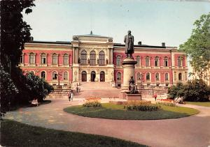 Sweden Old Vintage Antique Post Card Uppsala Universitet 1969