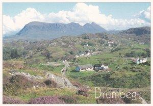 Drumbeg Sutherland Aerial Postcard