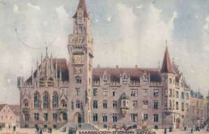 SAARBRUCKEN, Saarland, Germany, 1910 ; St. Johann-Rathaus ; TUCK 704