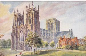 YORK , England , 1900-10s  ; York  Cathedral, TUCK 6499