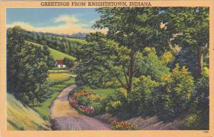 Greetings From Knightstown Indiana 1956
