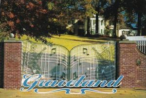 Elvis Presley Graceland Mansion Gates Memphis Tennessee