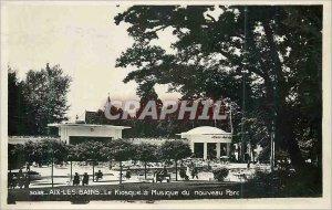 Modern Postcard Aix les Bains Kiosk New Music Park