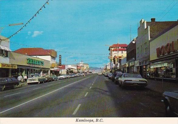 Canada Kamloops Vernon British Columbia