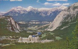 Banff Springs Hotel Banff National Park Canada