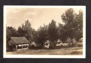 NH Cottage Cabins CENTER OSSIPEE ? New Hampshire RPPC