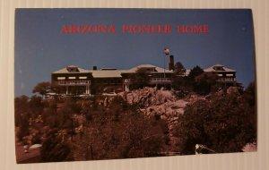 Vintage Postcard Arizona Pioneer Home western desert hotel