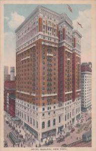 New York City Hotel Mcalpin 1917
