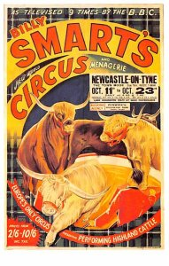 Circus Post Card Silly Smart's Circus Poster Dalkeith's Classic Pos...