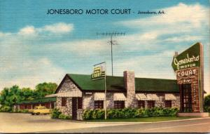 Arkansas Jonesbooro The onesboro Motor Court
