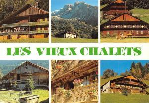 France Les Vieux Chalets Val d'Abondance Hte-Savoie, Chatel, Chapelle