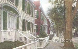 Colonial Homes, Academy Hill Nantucket MA Unused
