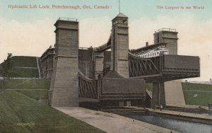 PETERBOROUGH, Ontario, Canada, 1900-10s; Hydraulic Lift Lock
