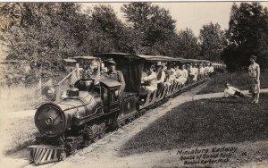 Michigan Benton Harbor House Of David Miniature Railway Real Photo sk4826