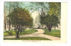 Foreman Park  Syracuse, New York, Pre-1907