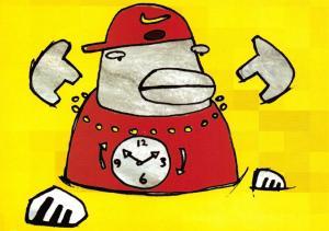 Art Postcard, Go Faster, The Fastest...Rap Artist The Rebel XD Media Card U56
