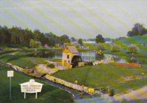 Canada Old Water Mill In Churchill Park Cambridge Ontario