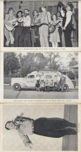Nashville , Tennessee, 20-30s ; Roy Acuff & Smoky Mt Boys, Grand Old Opry
