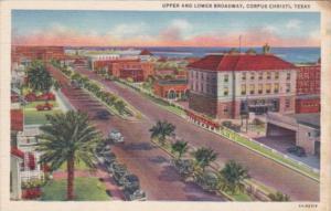 Texas Corpus Christi Upper and Lower Broadway