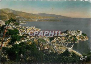 Modern Postcard The French Riviera Monaco Monte Carlo