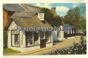 tp0434 - Hants - 16th Century Manor Farm Tea Rooms, in the New Forest - postcard