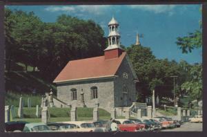 The Old Church,Ste Anne De Beaupre,QC,Canada Postcard BIN