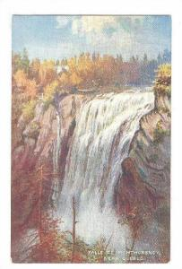 Falls of Montmorency , Quebec , Canada ; TUCK Oilette # 2557 series : 00-10s