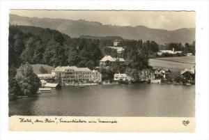 RP, Hotel  Am Stein , Traunkirchen Am Traunsee, Austria, 1920-1940s