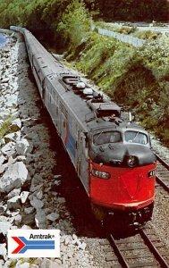 Modern The Coast Starlight, Seattle-Los Angeles Amtrak Train Unused