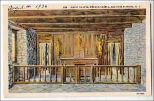 Jesuit Chapel, French Castle, Old Fort Niagara NY